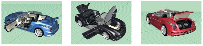 car configurator interactivity